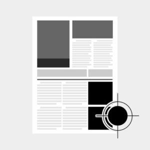 Black and White Letter/Legal